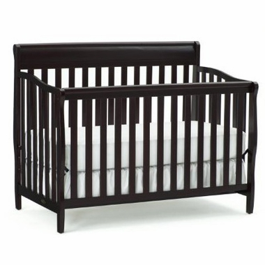 Graco Cribs Stanton 4 in 1 Convertible Crib in Espresso - Click to enlarge