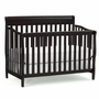 Graco Cribs Stanton 4 in 1 Convertible Crib in Espresso