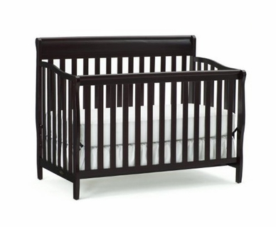 Graco Cribs Stanton 4 In 1 Convertible Crib Espresso