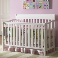 Graco Cribs Stanton Convertible Crib in White