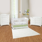 Graco Cribs Tatum 3 Piece Nursery Set - 4-in-1 Convertible Crib, Avalon 5 Drawer and 6 Drawer Dresser in White