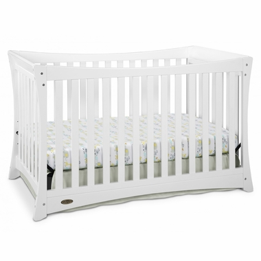 Graco Cribs Tatum 4 in 1 Convertible Crib in White - Click to enlarge
