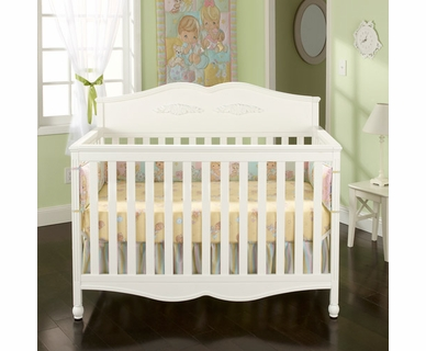 Graco Cribs Victoria 4 in 1 Convertible Crib in White