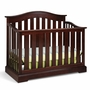 Graco Cribs Westbrook 4 in 1 Convertible Crib in Espresso