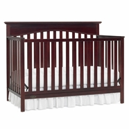 Graco Hayden 4-in-1 Convertible Crib in Cherry