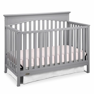 Graco Hayden 4-in-1 Convertible Crib in Pebble Gray