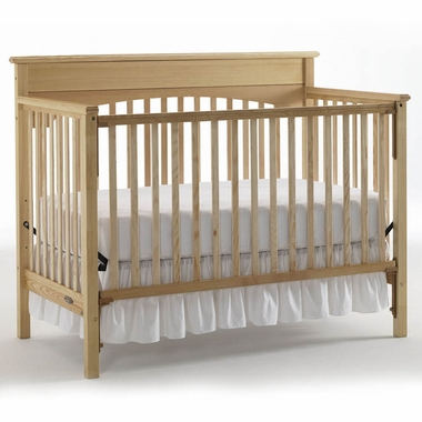 graco cribs lauren 4 in 1 convertible crib in natural click to enlarge