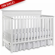 Graco Lauren Crib in White