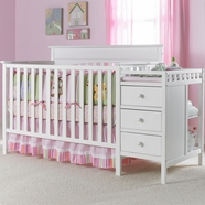 Graco Lauren Crib n Changer in White