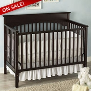 Graco Lauren Crib Sets in Espresso