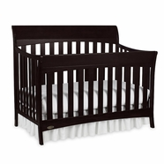Graco Rory 4-in-1 Convertible Crib in Espresso