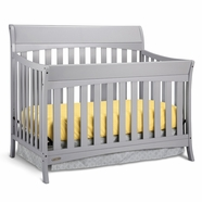 Graco Rory 4-in-1 Convertible Crib in Pebble Gray
