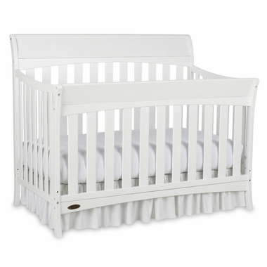 Graco Cribs Rory 4 In 1 Convertible Crib In White   Click To Enlarge