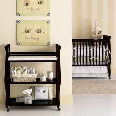 Graco Cribs Sarah Changing Table In Espresso Click To Enlarge