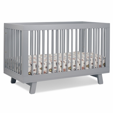 Babyletto Hudson 3-in-1 Convertible Crib in Grey - Click to enlarge