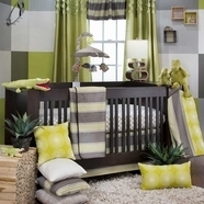 Green Baby Crib Bedding Collections