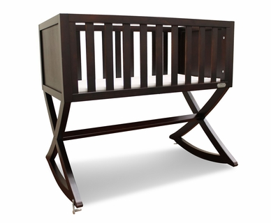 Green Frog Allegro Cradle in Espresso