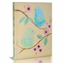 Green Frog Birds & Blooms 1 Canvas Gallery Wrapped Art