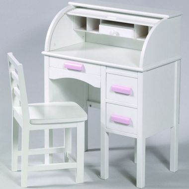 Guidecraft Jr Roll Top Desk In White Free Shipping 268 80