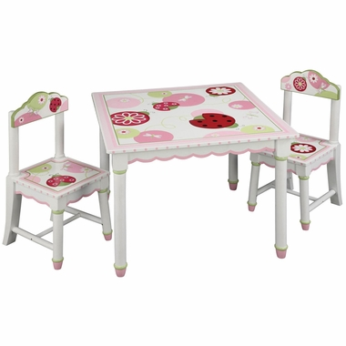 Guidecraft Sweetie Pie Table Chairs Set FREE SHIPPING