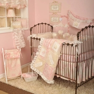 Heaven Sent Girl Crib Bedding Collection by Cottontale Designs