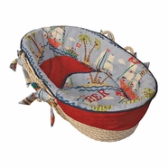 Hoohobbers Ahoy! Tailored Moses Basket