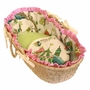 Hoohobbers Cirque Pink Doll Moses Basket