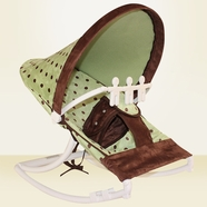 Hoohobbers Dots Green Baby Rocker