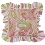 Hoohobbers Paisley Square Throw Pillow