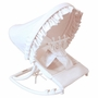 Hoohobbers White Pique Rocking Infant Seat
