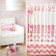 Hot Pink Zig Zag Bedding Collection by New Arrivals
