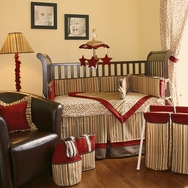 Hot Tamale Crib Bedding Collection by Hoohobbers