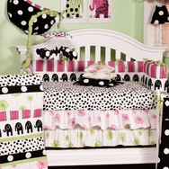 Hottsie Dottsie Crib Bedding Collection by Cottontale Designs