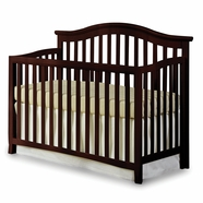 Imagio Baby Summit Park Convertible Crib in Chocolate Mist