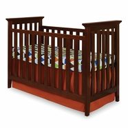 Imagio Baby Summit Park Convertible Crib in Virginia Cherry