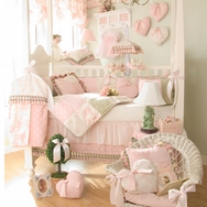 Isabella Crib Bedding Collection by Glenna Jean