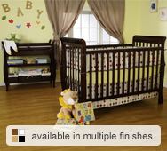Jamie Convertible Crib Collection by DaVinci
