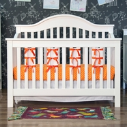 Jayden Convertible Crib in White