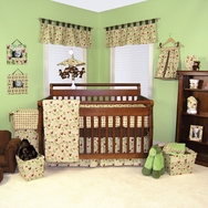 Jungle Jam Crib Bedding Collection by Trend Lab