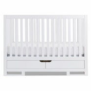 Karla Dubois Copenhagen Convertible Crib in Pure White