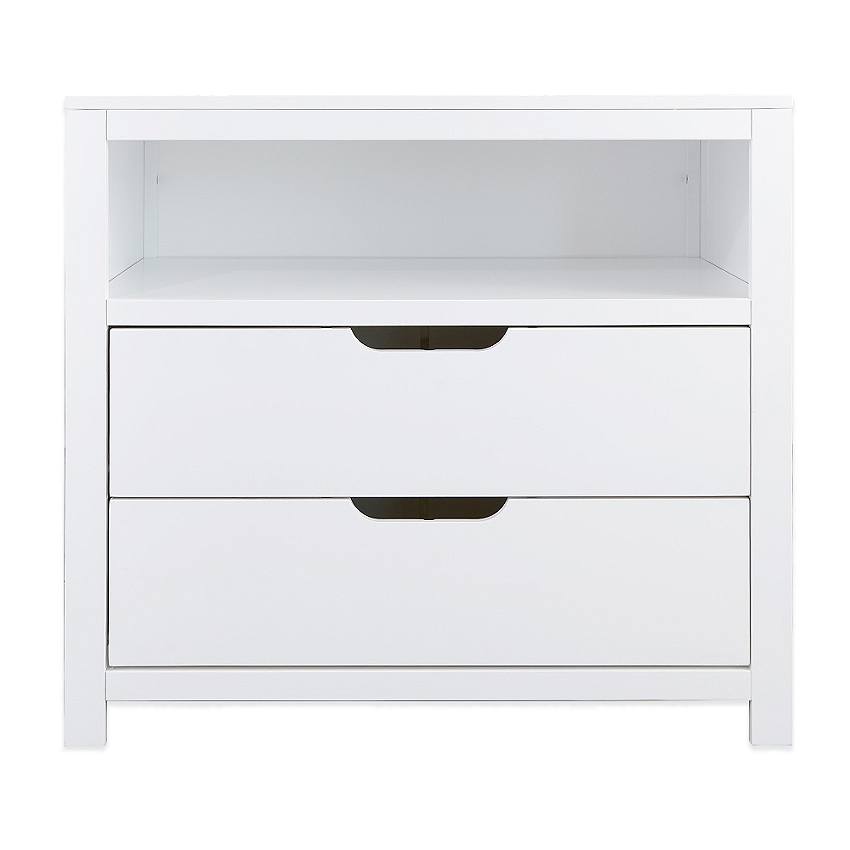 Karla Dubois Oslo 2 Drawer Dresser In White 399 99