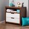 Karla DuBois Oslo 2 Drawer Dresser in White / Coco