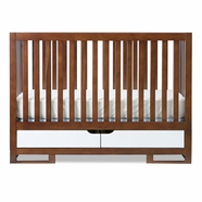 Karla DuBois Oslo Convertible Crib in White / Coco