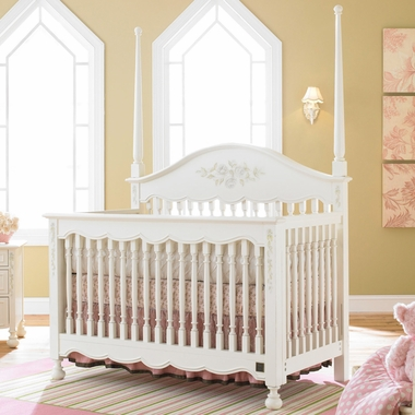 Kathy Ireland  Princess Garden Lifestyle Crib in Sweet Cream by La Jobi - Click to enlarge