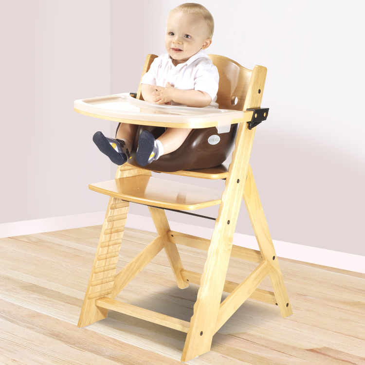 Beautiful Keekaroo Height Right High Chair With Infant Insert U0026 Tray In Natural And  Lilac FREE SHIPPING
