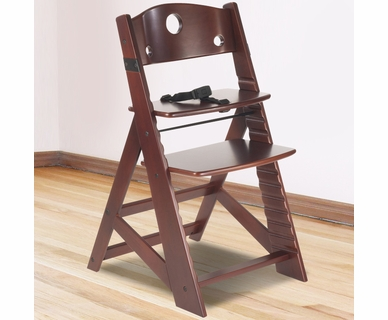 Keekaroo Height Right Kid's Chair in Mahogany
