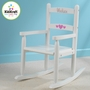 KidKraft 2-Slat Rocker in White