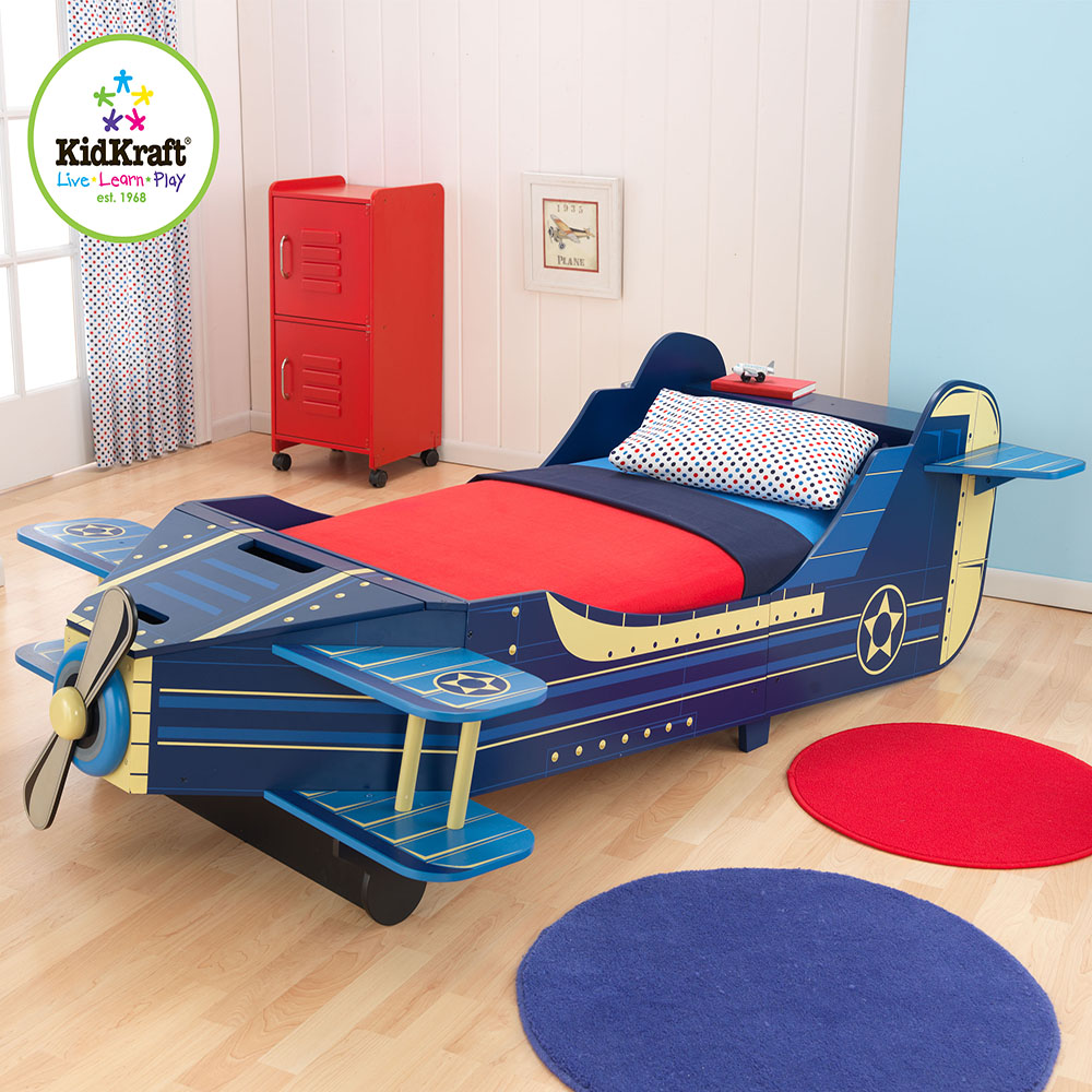awesome Kidkraft Airplane Toddler Bed Part - 9: Simply Baby Furniture