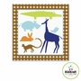 "Kidkraft Animal Boys Canvas 10""x24"" Hanging Wall Art"