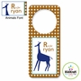 Kidkraft Animal Boys Personalized Door Hanger